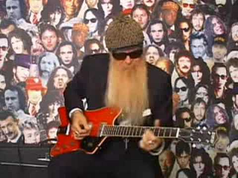 Billy Gibbons Guitar Lesson Video