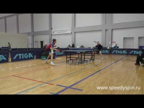 Sidorenko-Ivonin.Finale.Russian Junior Table Tennis Championship 2017. FHD.