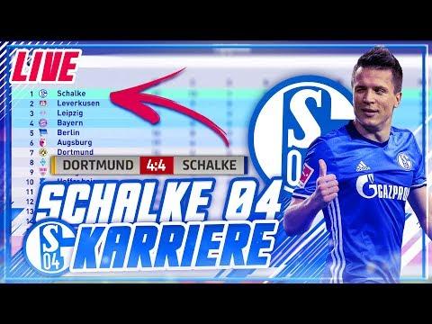 MEGA HINRUNDE & TABELLENFÜHRER!! 🔝🏆 4:4 VS. DORTMUND!?? 😱 - FIFA 18 Schalke 04 Karrieremodus #2