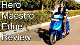 Hero Maestro Edge Review With Test Ride