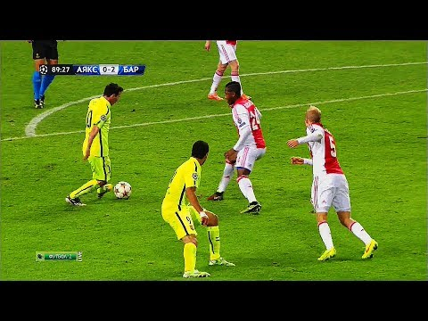 Lionel Messi ● 22 Oddly Satisfying Nutmegs Only HE Can Do in Football ¡! ||HD||