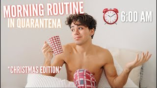 La mia vera Morning Routine in QUARANTENA *christmas edition* | Luciano Spinelli
