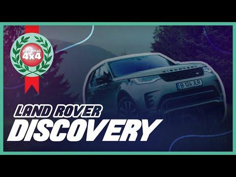 Land Rover Discovery 5 facelift 2021 în OFF-ROAD, PE PLOAIE