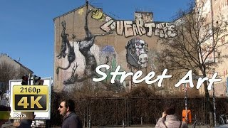 Graffiti and Street-Art Tour in Kreuzberg SO 36, Berlin - Germany 4K Travel Channel