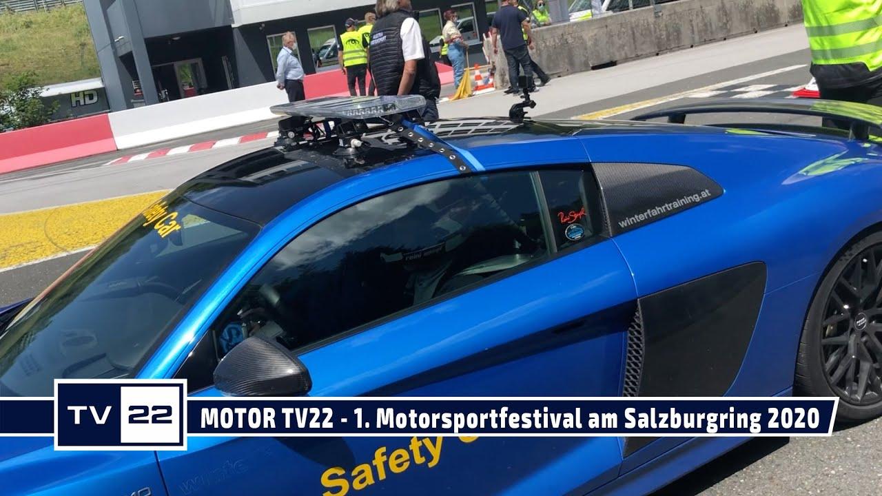 MOTOR TV22: Die Organisatoren beim 1. Motorsportfestival am Salzburgring