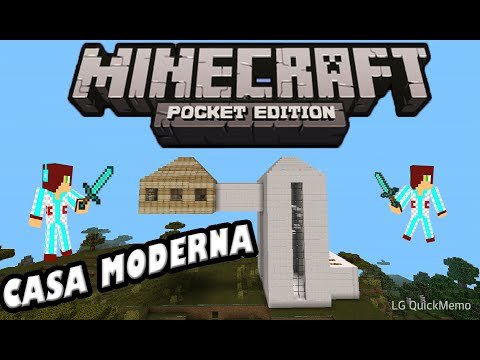 descarga casa moderna en minecraft pocket edition 0 9 5