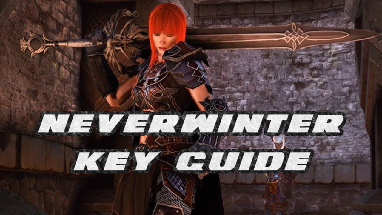 Neverwinter - What Do All These Keys Do?! - Key Guide