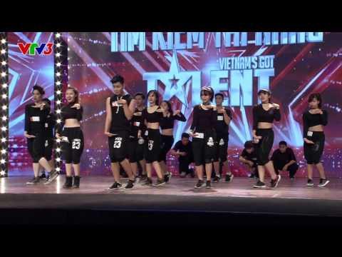 Vietnam's Got Talent 2016 - TẬP 02 - Tiết mục Nhảy - Nhóm FCD