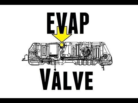 po449 2005 buick terraza & chevy uplander - locating the evap valve