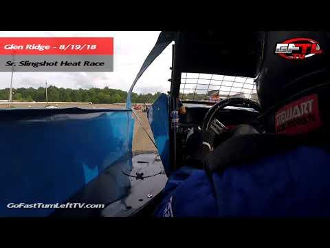 Danny Ballard @ Glen Ridge Motorsports Park - Sr. Slingshot Heat Race 8/19/18