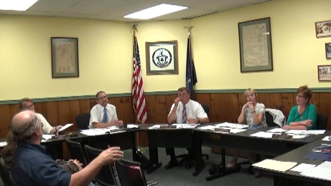 Champlain Village Board Meeting  9-14-15