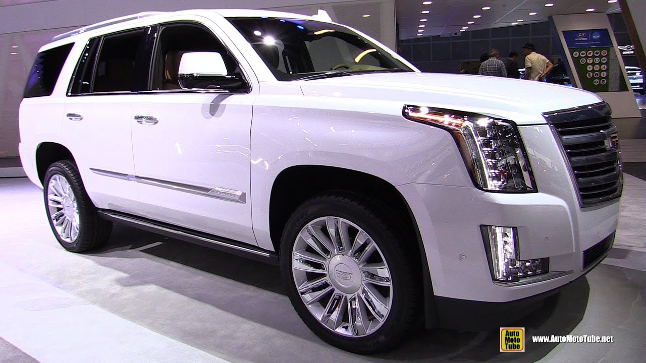 2017 Cadillac Escalade Platinum Exterior And Interior Walkaround 2016 La Auto Show You