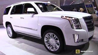 2017 Cadillac Escalade Platinum - Exterior and Interior Walkaround - 2016 LA Auto Show