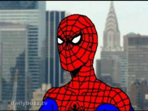 Bush Seeks Advice: Spider-Man (The Daily Buzz)