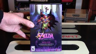 Zelda Majora's Mask 3D Limited Edition Unboxing - With Skull Kid Figurine | Nintendo Collecting