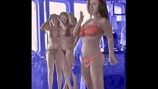 Cruise Ship Bikini Contest