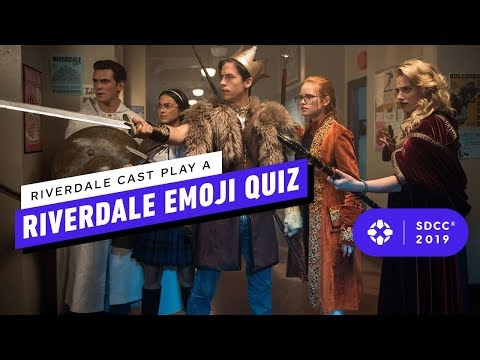 Riverdale Cast Plays A Riverdale Emoji Quiz - Comic Con 2019