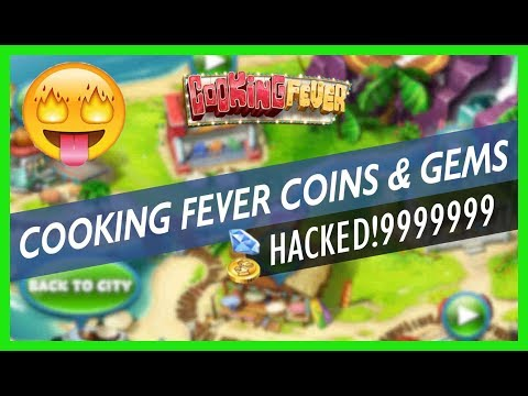 COOKING FEVER HACK - How to Get Coins and Gems - CHEATS ()