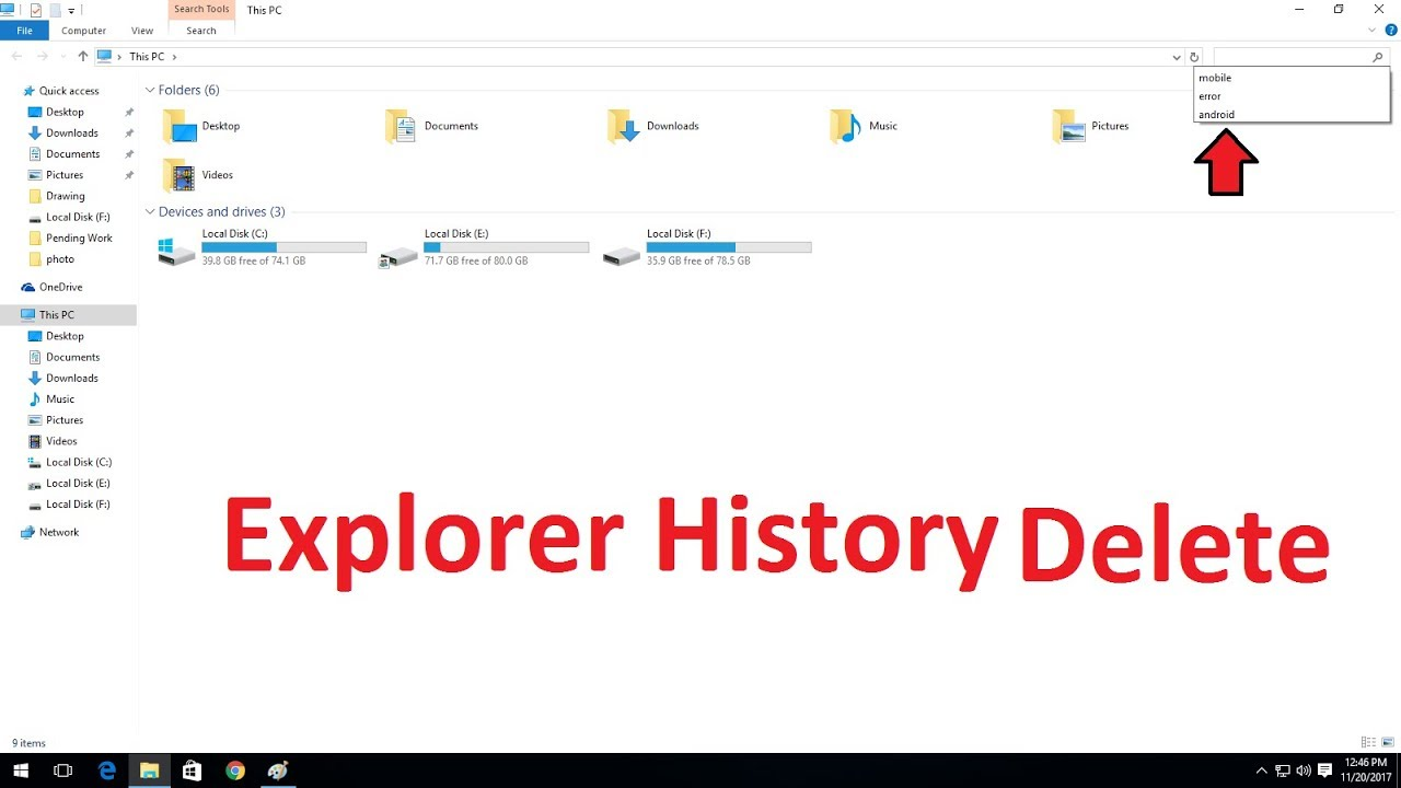 How to delete windows explorer search history in windows 7810 how to delete windows explorer search history in windows 7810 ccuart Choice Image