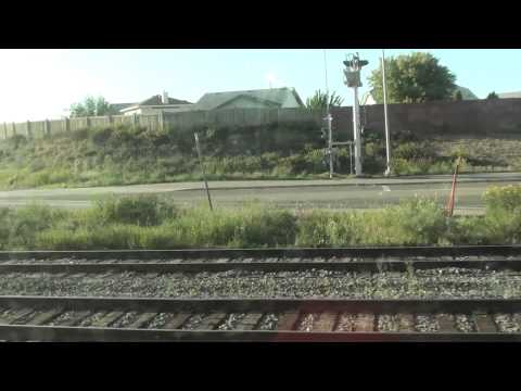 Departing Edmonton on VIA Rail 1 The Canadian