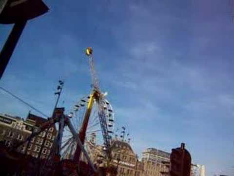 Fair at Dam Square in Amsterdam 2