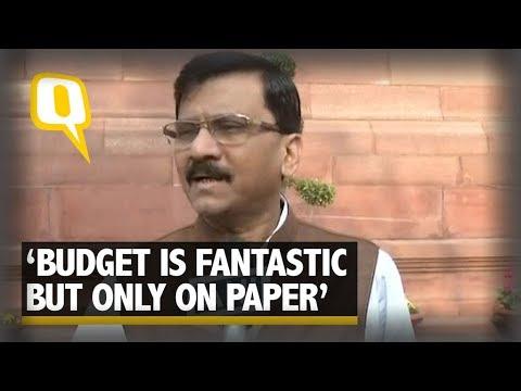 Shiv Sena's Sanjay Raut Slams Union 2018 Budget