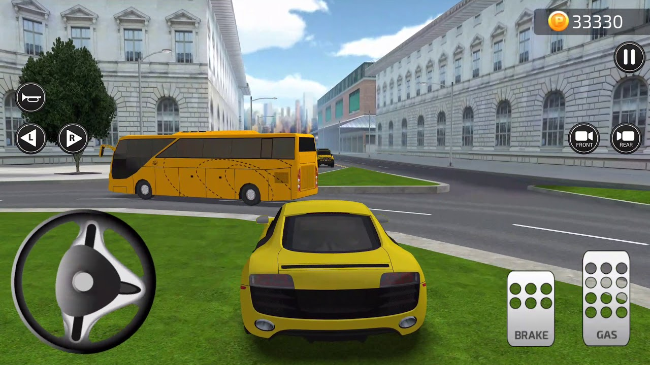 From The Makers Of Parking Frenzy D AUDI R Android Game Full - Audi car 3d games