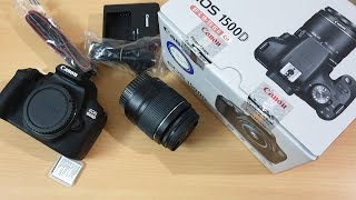Canon Eos 1500D Unboxing(with carrying Bag)