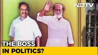 A Signal From Rajinikanth On Politics? Frenzy Rises Ahead Of Trichy Meet