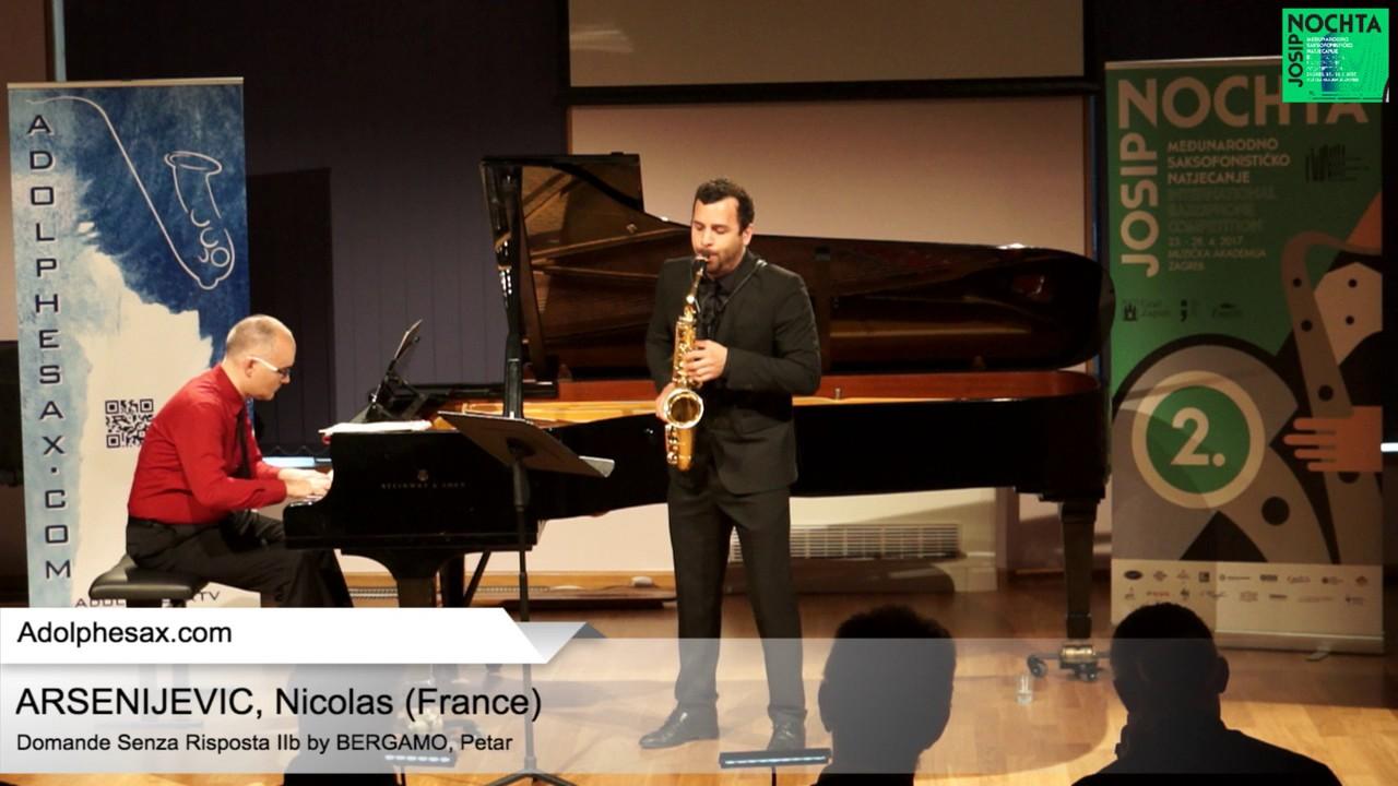 Domande senza risposta IIb (Petar Bergamo) – ARSENIJEVIC, Nicolas (France)