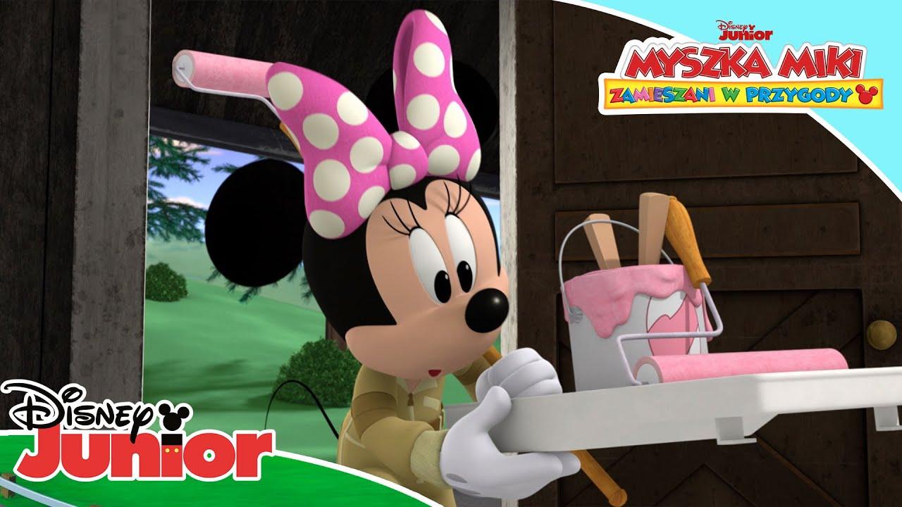 Wakacyjny domek Minnie 🏝   Myszka Miki: Zamieszani w przygody   Disney Junior Polska