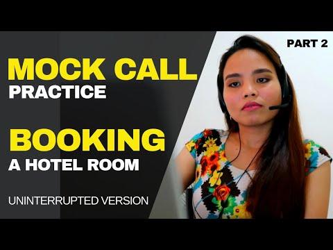 Mock Call Practice | Hotel Reservation | Short Version