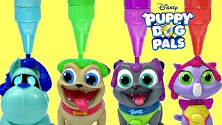 Puppy Dog Pals On a Mission Crayola Bath Paints with Rolly, Bingo, Hissy & A.R.F.