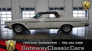 1963 Plymouth Sport Fury Gateway Classic Cars Chicago #1345