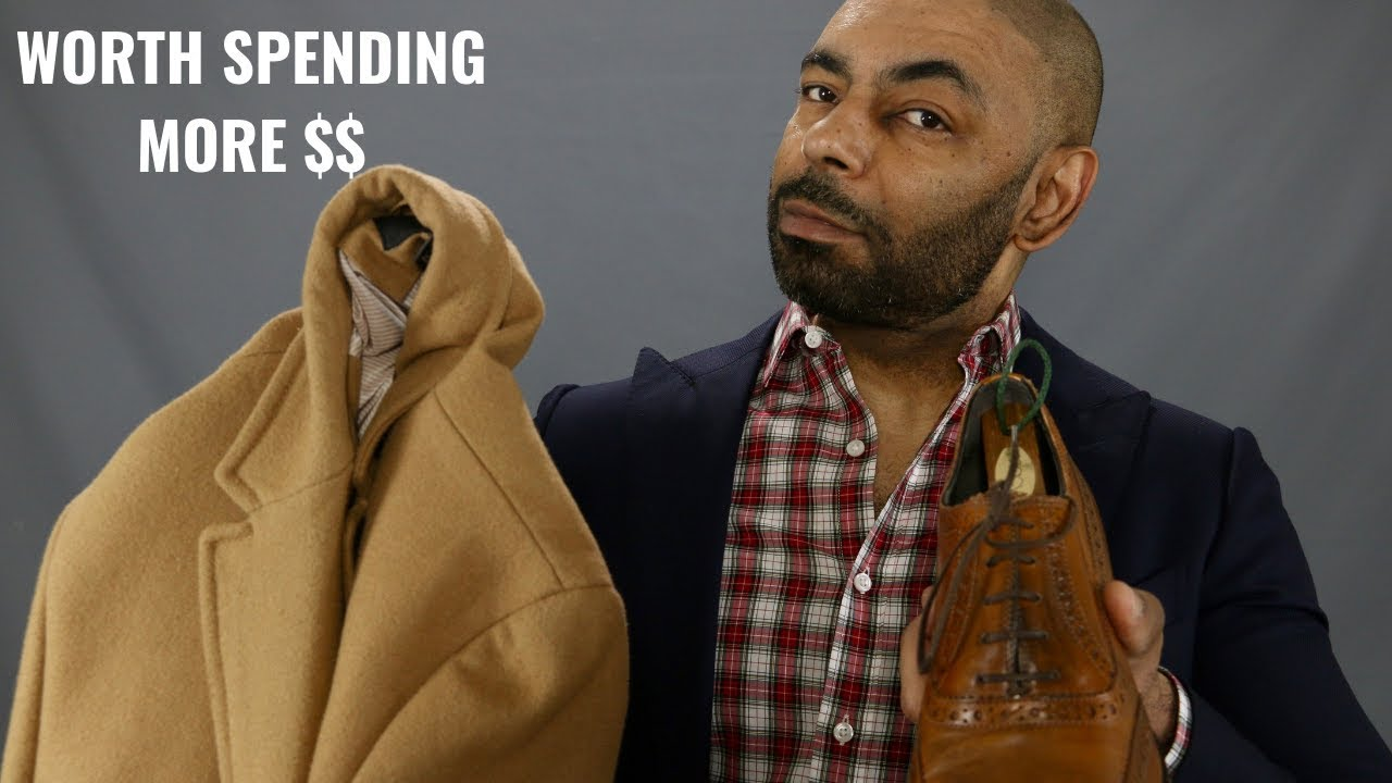 10 Men's Style Items Worth Spending More Money On