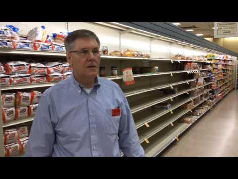 Columbia Resident Emptying Grocery Store Shelves Ahead Of Hurricane Matthew