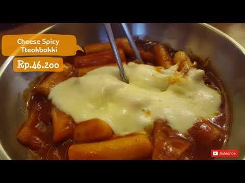 Makanan Korea Omija, Ngemil Cheese Spicy Tteobokki Paling Enak di Jakarta