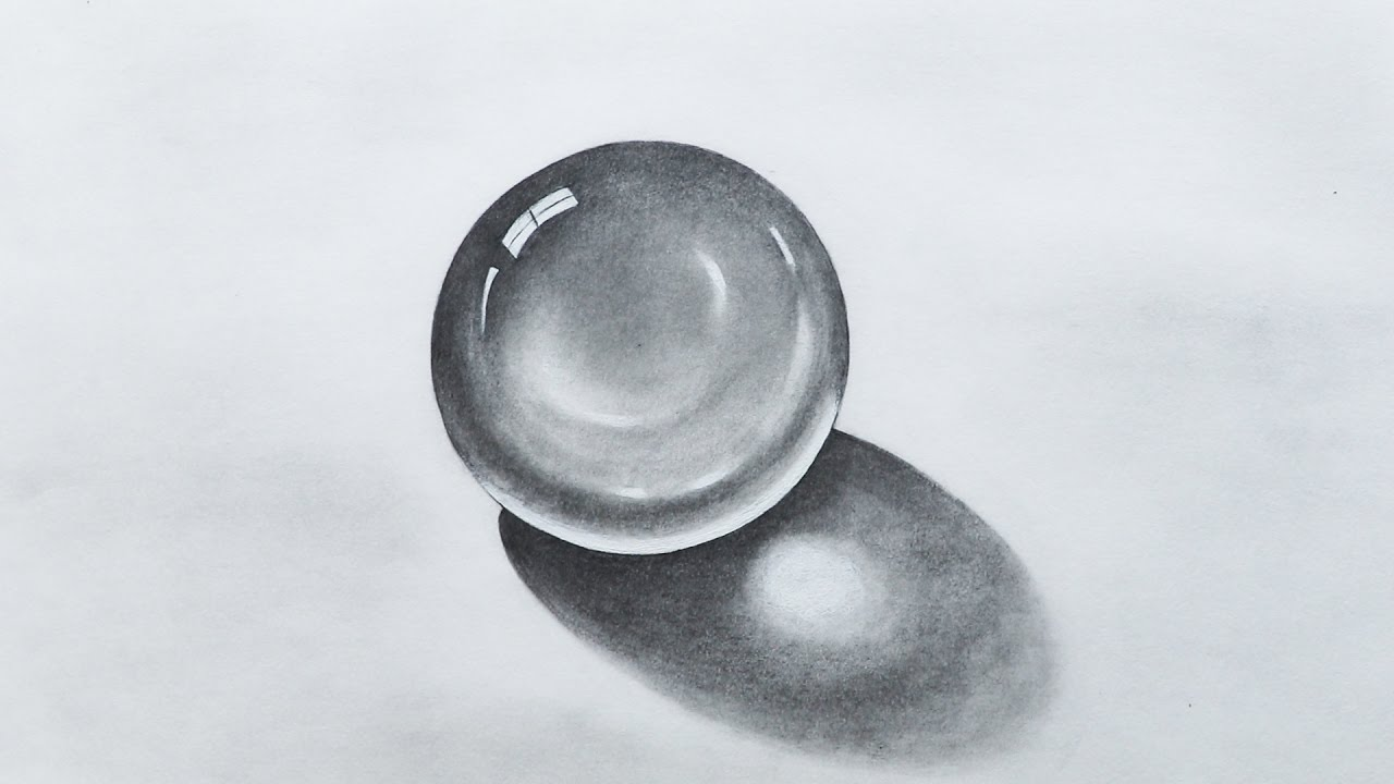 how to draw realistic crystals