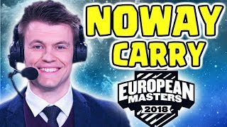 European Masters Noway4u Anivia | Highlights SPG VS NIP  LoL