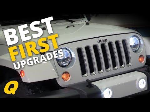 Best First Upgrades for Jeep Wrangler JK