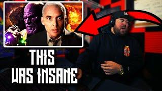 RAPPER REACTS to Thanos vs J Robert Oppenheimer. Epic Rap Battles of History