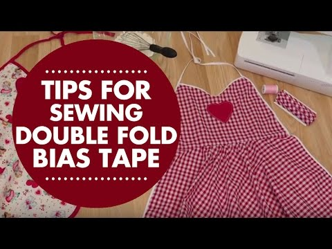 Tips for Sewing Continuous Double Fold Bias Tape
