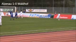 FC Bayern Alzenau vs. SV Waldhof Mannheim 07