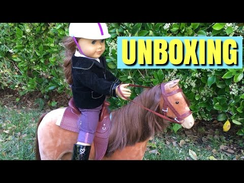 Unboxing American Girl Horse