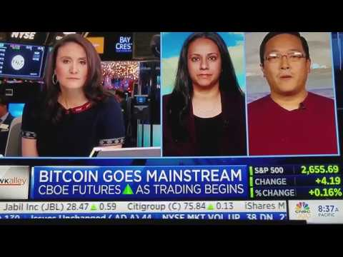 Charlie Lee Interview -CNBC Squawk Box Reporter calls Bitcoin FIAT
