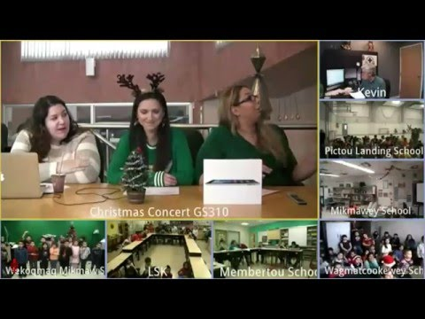 2015 Video Conference Christmas Concert