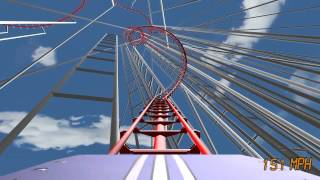 Roller Coaster Rampage - FailCoaster #1 (First Person View)