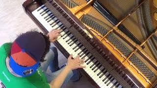 David Guetta - This one's for You - piano cover by LIVE DJ FLO = Hotel Pianist