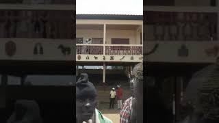 AMBAZONIA ANTHEM IN KUMBO PALACE SOUTHERN CAMEROON