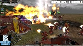 Warhammer 40 000 multiplayer Hardcore #88 Настоящий Крестоносец 2v2v2v2